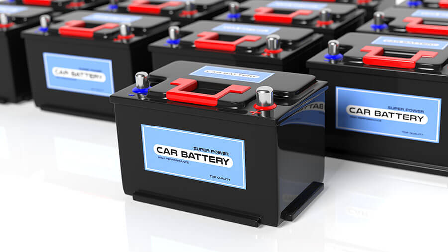 how many car batteries to power a house