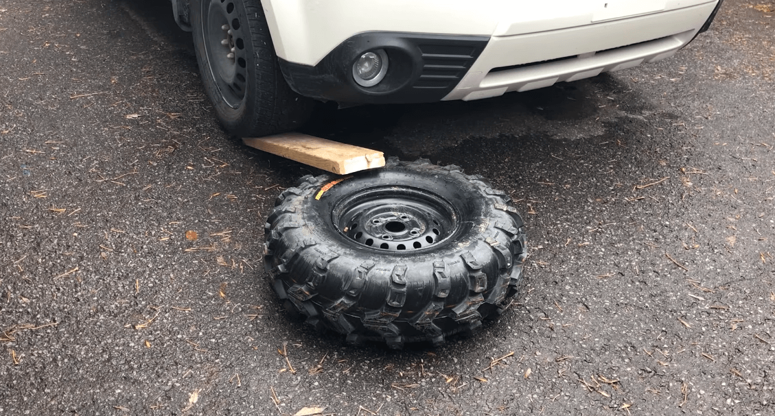how to mount atv tires